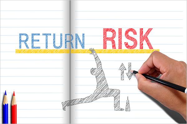 利回りはリターンの指標であり、リスクの指標