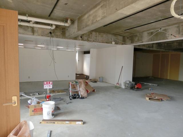 店舗区画内は無柱空間を意識しましょう!
