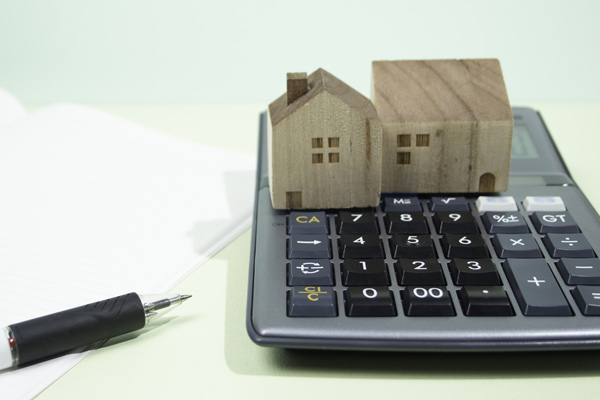 住宅模型と計算機